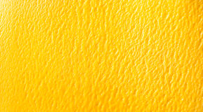 Overhead background texture of mango sorbet Royalty Free Stock Image