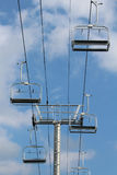 Overhead chair lift Stock Images
