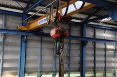 Overhead Crane Stock Image