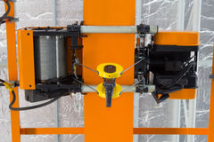Overhead Crane Factory Stock Image