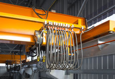 Overhead crane Stock Photo