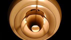 Overhead lamp light Stock Photo