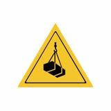 Overhead load sign vector design Stock Photos