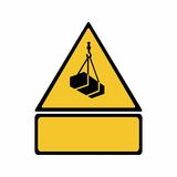 Overhead load sign vector design Stock Images