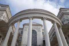 Overhead part of columns Royalty Free Stock Photography