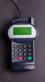 Overhead of pin terminal machine Royalty Free Stock Image