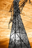 Overhead Power Lines Royalty Free Stock Photography