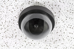 Overhead Security Camera Globe Stock Photo