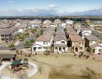 Free Overhead Shot Of Suburbia In AZ Stock Photo - 8139320