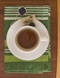 Overhead tea Royalty Free Stock Photo