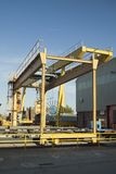 Overhead Travelling Crane. Overhead Travelling 12tons crane, iron royalty free stock photos
