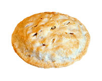 Overhead view apple pie Royalty Free Stock Photo