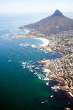 Overhead view of Cape Town Stock Photos