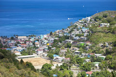 Overhead view, castries st lucia Stock Images