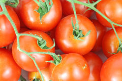 Overhead View Cherry Tomatoes Royalty Free Stock Photo