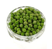 Overhead View Frozen Peas Royalty Free Stock Images
