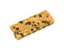 Overhead view granola bar Royalty Free Stock Image