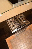 Kitchen oven and hob Royalty Free Stock Photos