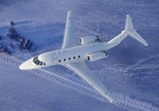 Overhead view of Luxury Jet Stock Photos
