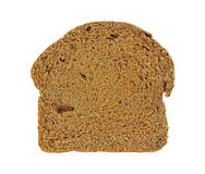 Overhead View Pumpernickel Bread Stock Image