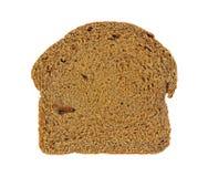 Overhead View Pumpernickel Bread Stock Image
