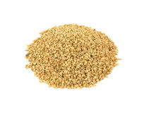 Overhead View Sesame Seeds Stock Image