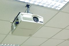Overheadprojector Royalty-vrije Stock Foto