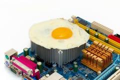 overheat компьютера Стоковые Изображения RF
