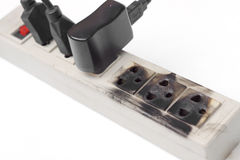 Overheat surge protector Stock Images