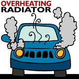 Overheating Radiator Stock Image