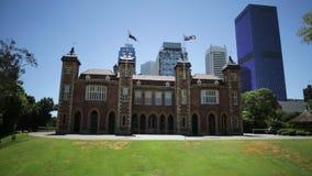 Overheidshuis in Perth stock video