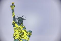 Overheidssluitingen in de Verenigde Staten royalty-vrije stock fotografie