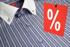 Overhemd en etiket Royalty-vrije Stock Foto's