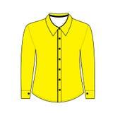 Overhemd met lange kokers Stock Foto's