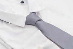 Overhemd met stropdas royalty-vrije stock foto