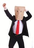 Overjoyed businessman Stock Photography