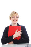 Overjoyed woman with a beaming smile Stock Image