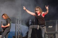 Overkill chez Metalfest 2015 Photo libre de droits