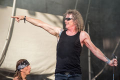 Overkill chez Metalfest 2015 Image stock