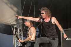 Overkill at Metalfest 2015 Royalty Free Stock Images