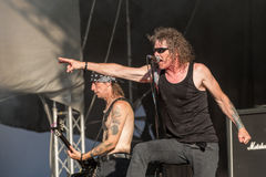 Overkill at Metalfest 2015 Stock Photo