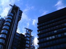 Overklig byggnad Arkivbild