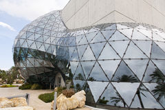 Overklig modern byggnad Arkivfoton