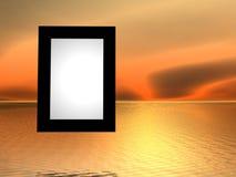 overklig ram Fotografering för Bildbyråer