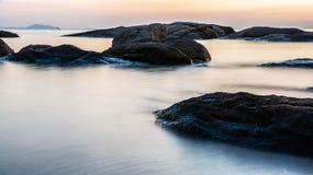 Overklig seascape Arkivfoto