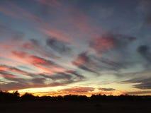 overklig sky Arkivbilder