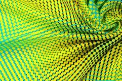 Overkliga vävde FÄRGER silkespapper textil, torkduk, tyg, material, arkivbild