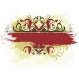 Overladen banner Royalty-vrije Stock Fotografie