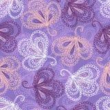 Overladen bloemen naadloos patroon Stock Afbeeldingen