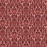 Overladen bloemendamast naadloos patroon Overal de vectorachtergrond van de druksymmetrie De oude victorian stijl van de behangma stock illustratie